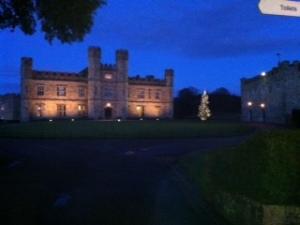 Leeds castle Xmas 2013